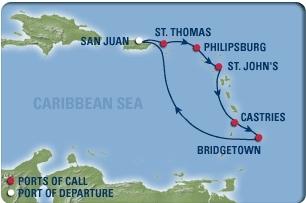 2009_Cruise_Itinerary_Map